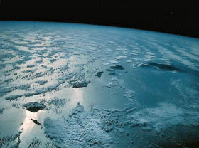Hawaiian Islands from space