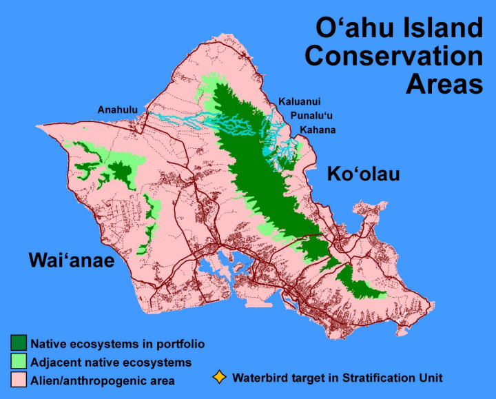 Oahu Conservation Areas